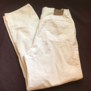 Ralph Lauren White Size 8 Jeans